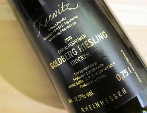 Knewitz Riesling Goldberg