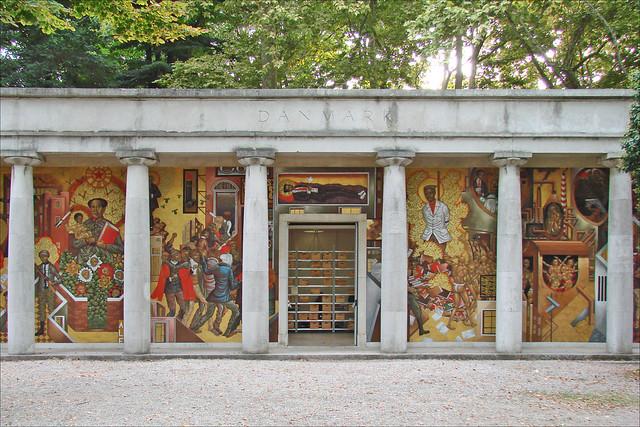 Pavillon Du Danemark Giardini Venise Partie Centrale