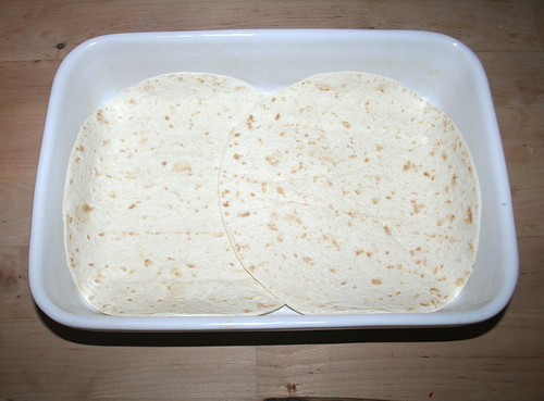 33 - Tortillas in Auflaufform