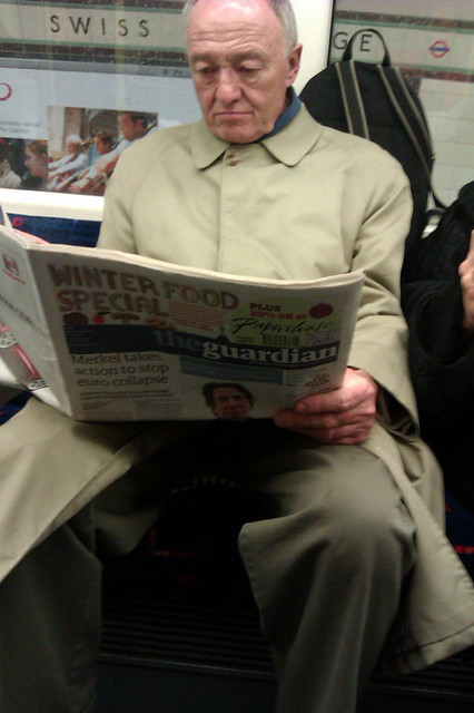 Ken Livingstone on the Tube - 3rd December 2011