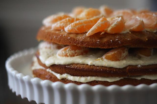 satsuma cake, up close