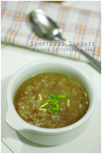 Sumptuous Sundays: Corned Beef Lugaw