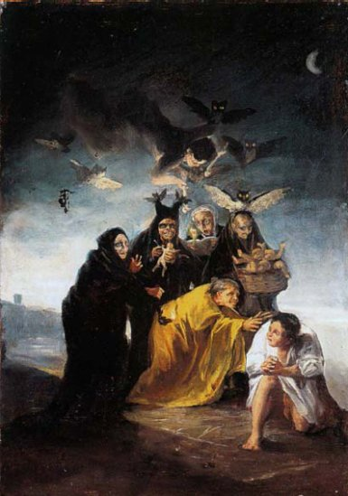 11l04 Goya Las Brujas