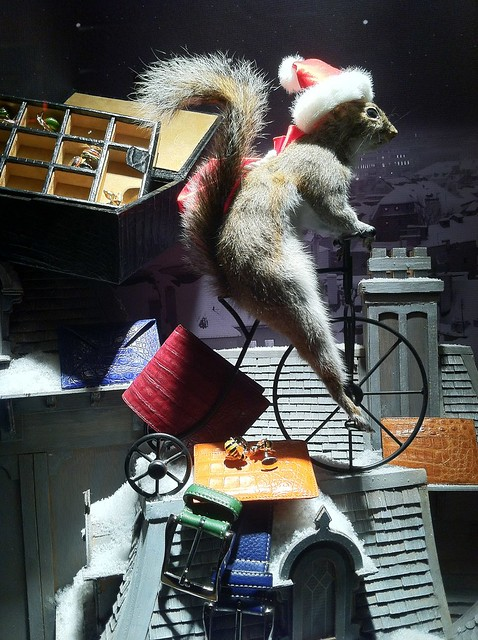 Bergdorf Goodman 2011 Christmas Window Display