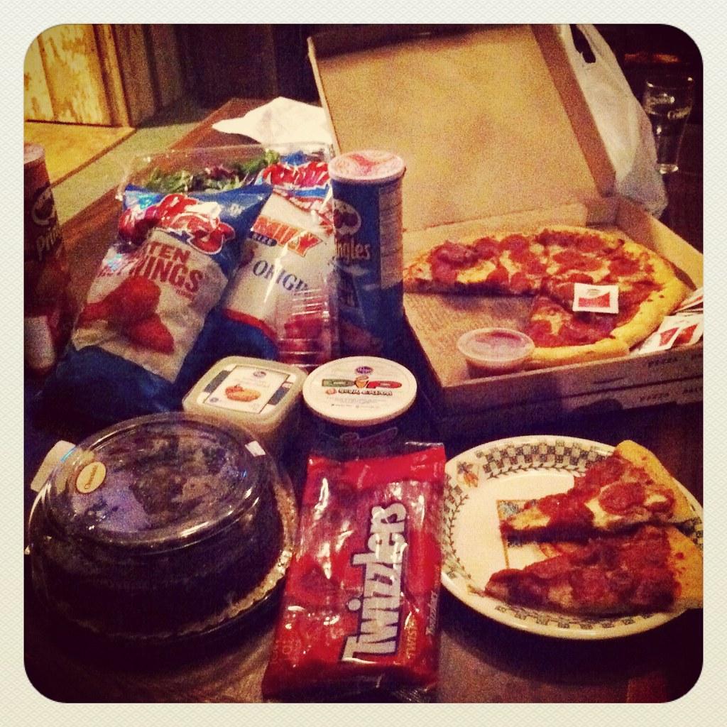 junk food haul