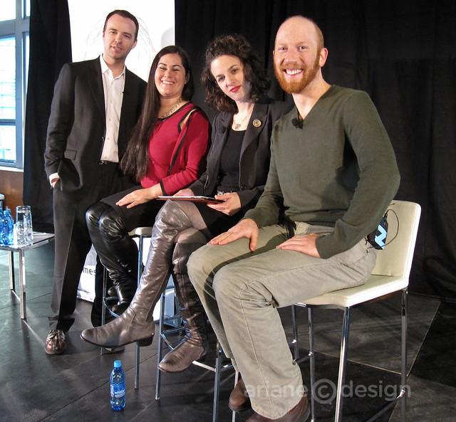 Darren Barefoot, Caroline MacGillivray, Alexandra Samuel, Elijah van der Giessen