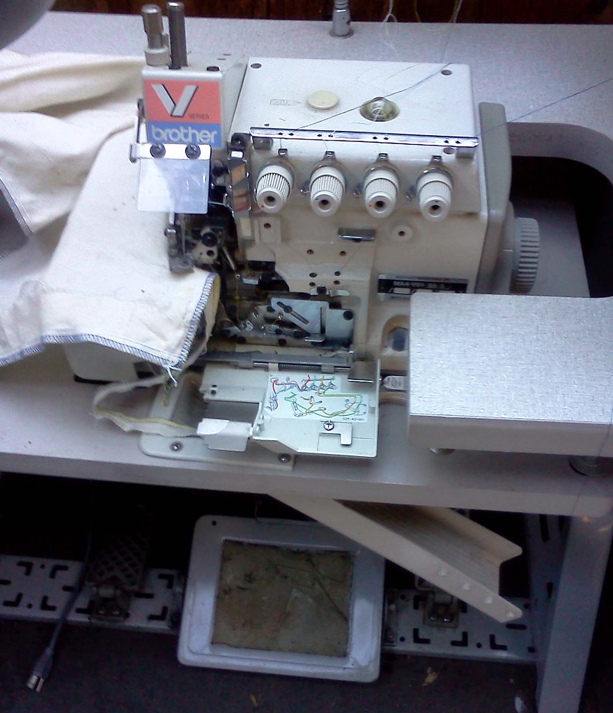 Brother 3 or 5 thread overlock MA4-V61-65-5