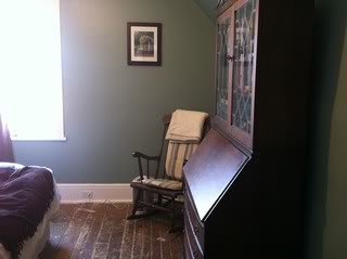 victorian farmhouse bedroom after