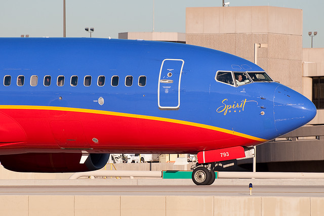 Southwest airlines n793sa flickr photo sharing for Spirit airlines one way