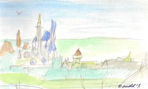 12.1.11 - Magic Kingdomscape