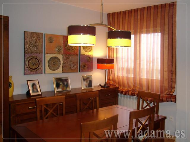 Decoraci n para salones cl sicos cortinas con dobles for Tapiceria y decoracion