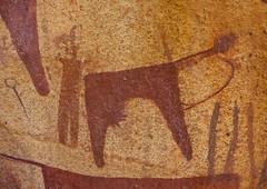 Laas Geel Rock Art Caves, Paintings Depicting Cows Somaliland
