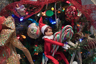 Candy Cane Stealing Elf!