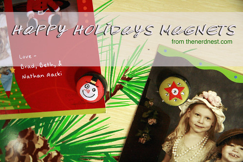 Happy Holiday Magnets