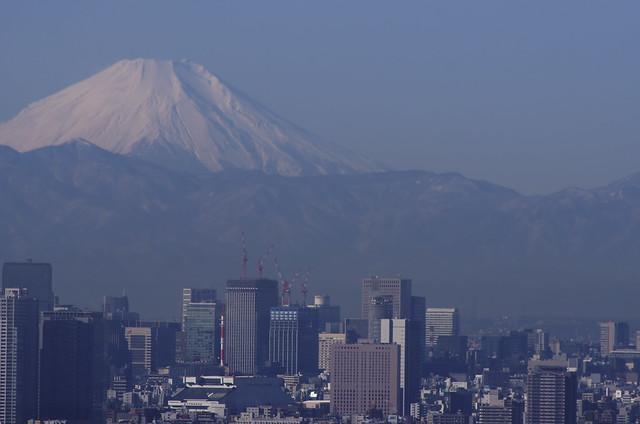 Fuji Beyond Tokyo