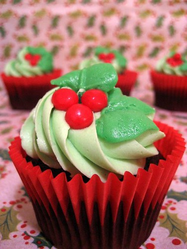 Vegan Christmas Cupcake Gifts