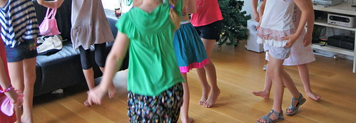 8th Birthday Party - Dancing