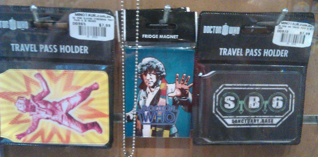 Doctor Who travel pass holders