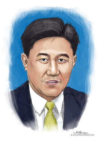 digital portrait of PBM-Yi Wei Soh George