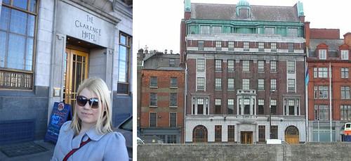 Dublin U2 the clarence hotel