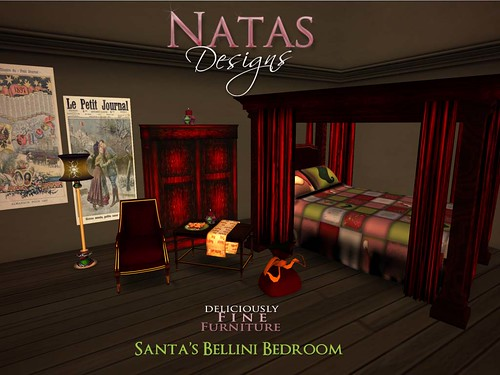 Santa's Bellini Living Room by natashashoteka