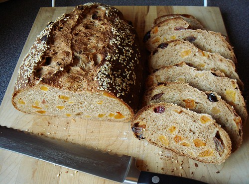 Apricot Wheatgerm Loaf