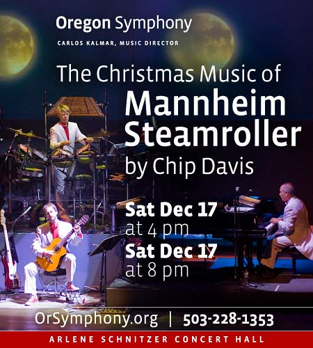 Mannheim Steamroller Oregon Symphony