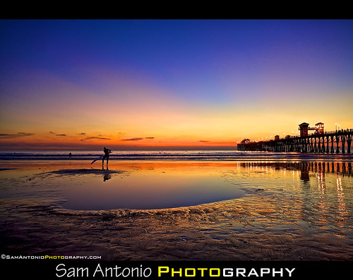 Lunar Eclipses and Beautiful Beach Sunsets by Sam Antonio Photography