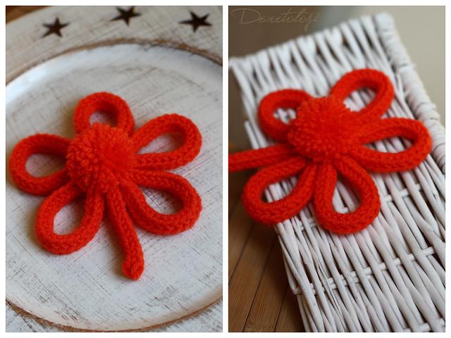 turuncu çiçek_kolaj