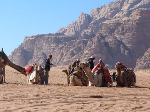 Foto del desierto de Wadi Rum (Jordania)