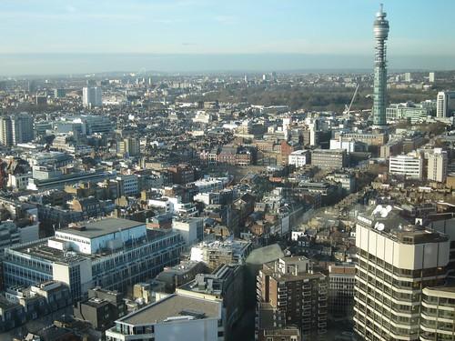 Paramount, vistas desde Bar. Londres
