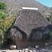 Thatched hut - Choza con techo de paja;  San Franscisco Cahuacuá (Región Mixteca), Oaxaca, Mexic por Lon&Queta