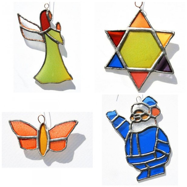 Merry & Bright: Stained Glass Ornaments
