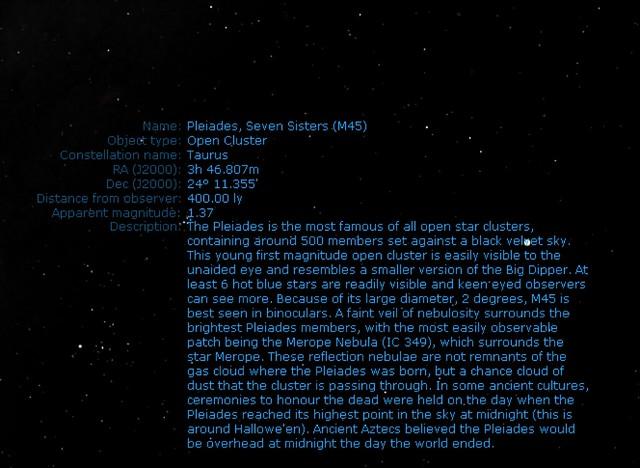 プレアデス星団 M45 スバル