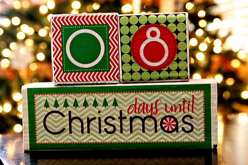 Christmas Countdown Blocks 1