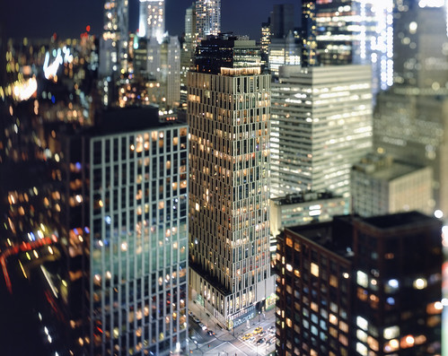 tribeca and lower manhattan at night