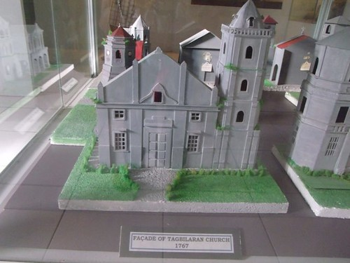 Model of the Tagbilaran Church