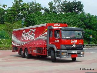 Coca-Cola truck on Lantau Island