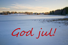 God jul! / Happy Christmas!
