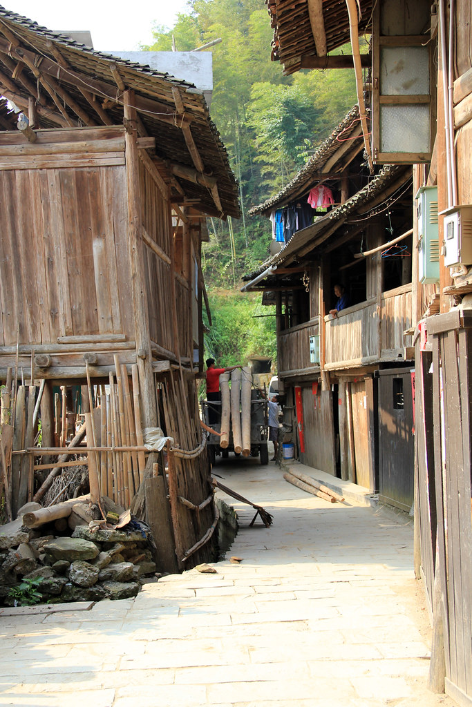 Wooden Village of Chengyang, China