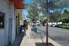 improved with wider sidewalk, street trees (courtesy of SvR Design)
