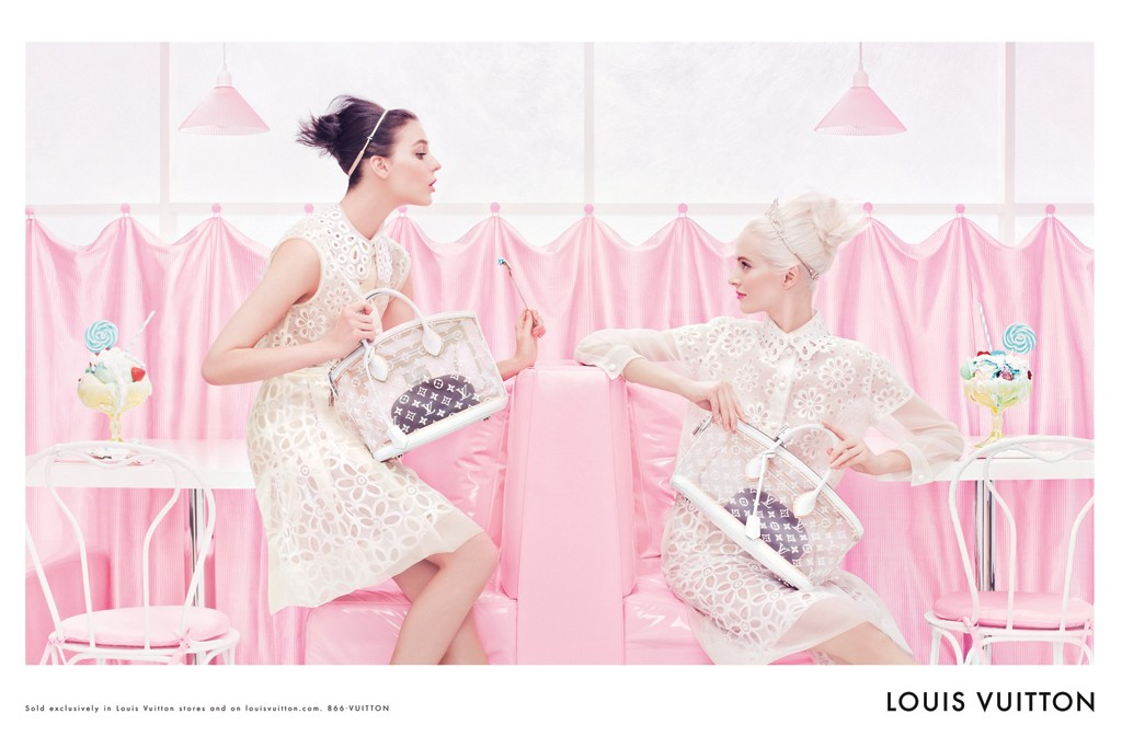 steven meisel for louis vuitton.