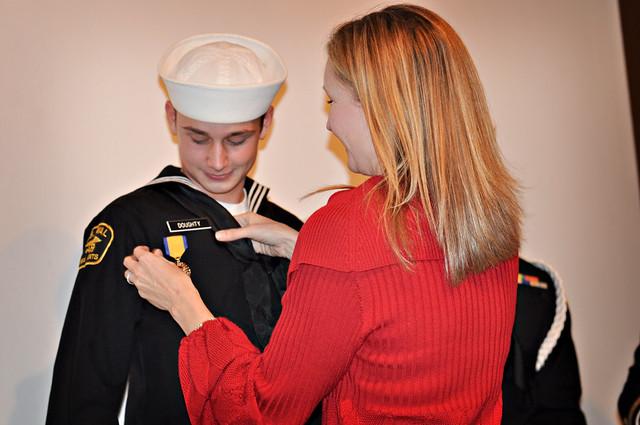 Military Ball 2011 Bryce mom award