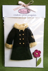 Boiled Wool Coat * Black