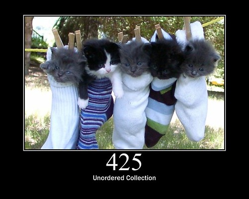 425 - Unordered Collection