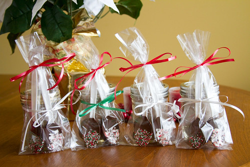Homemade Hot Cocoa Mix and Chocolate-Dipped Spoons - 5