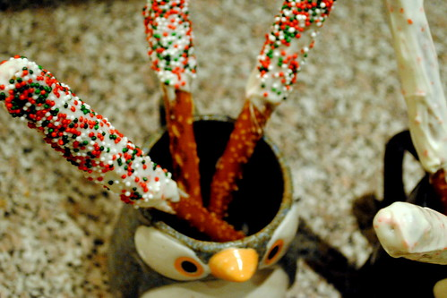 Candy-Coated Pretzel Sticks 5