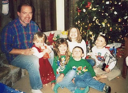 Christmas with 5 oldest kids Resized