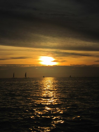 Sunset at Borakay