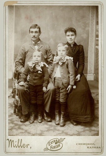 Cabinet Card family of four